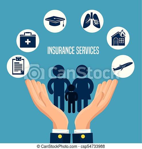 insurance services concept - csp54733988