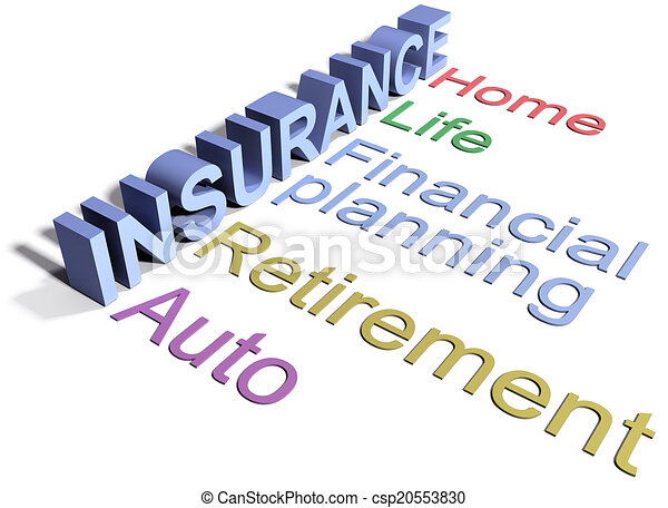 Insurance services home life auto - csp20553830
