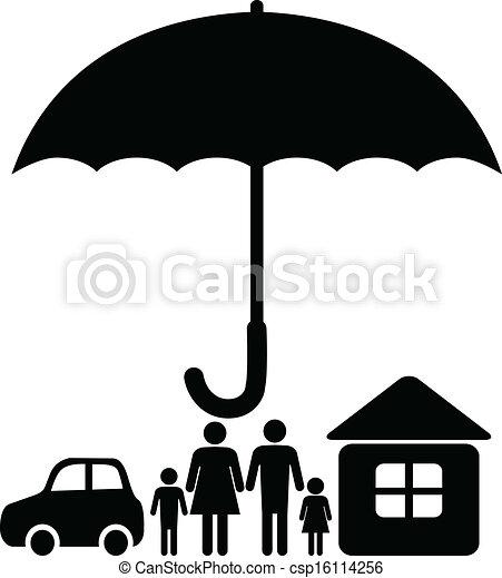 Insurance sign - csp16114256