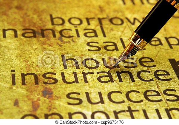 Insurance - csp9675176