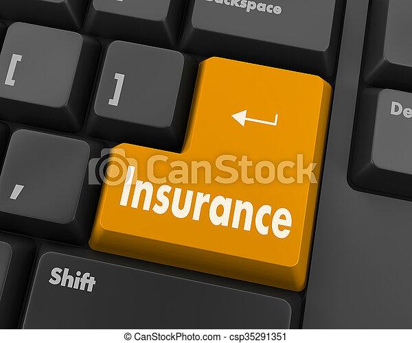 insurance - csp35291351