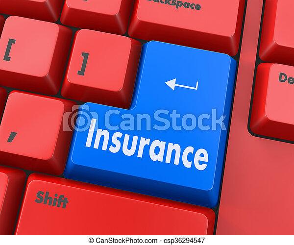 insurance - csp36294547
