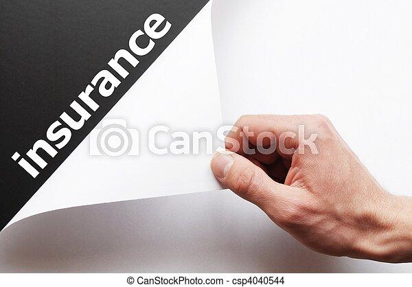 insurance - csp4040544