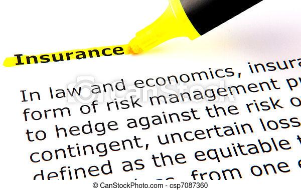 Insurance - csp7087360
