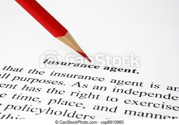 Insurance - csp8910960