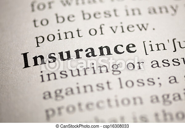 Insurance - csp16308033