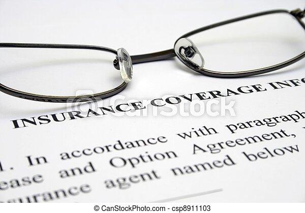 Insurance - csp8911103