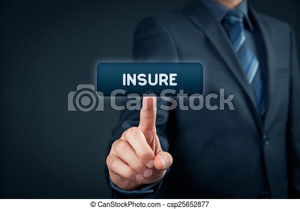 Insure - csp25652877