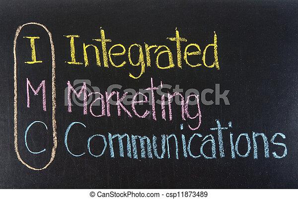 intégré, acronyme, communications, imc, commercialisation - csp11873489