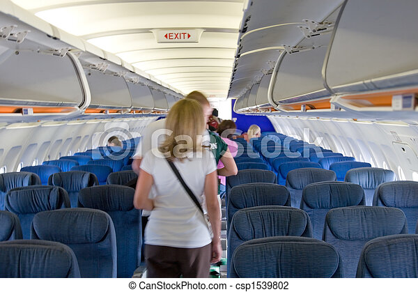 Int rieur avion passagers int rieur leur avion aller for Interieur avion
