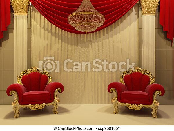 Int rieur baroque royal meubles clipart recherchez for Interieur baroque