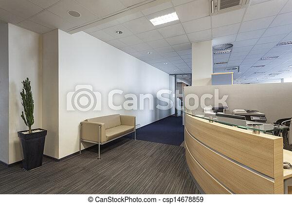 intérieur, bureau - csp14678859