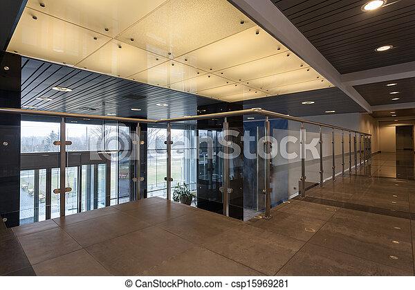 intérieur, bureau - csp15969281