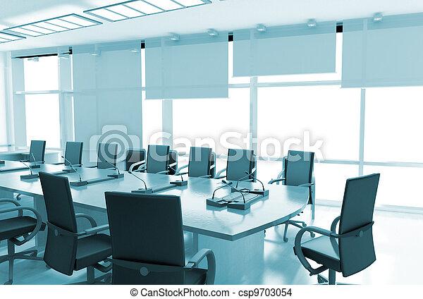 intérieur bureau - csp9703054