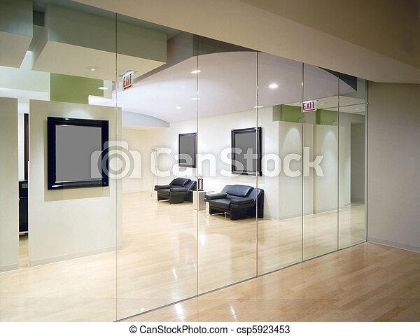 intérieur, bureau - csp5923453