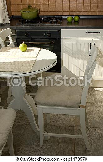intérieur, cuisine - csp1478579