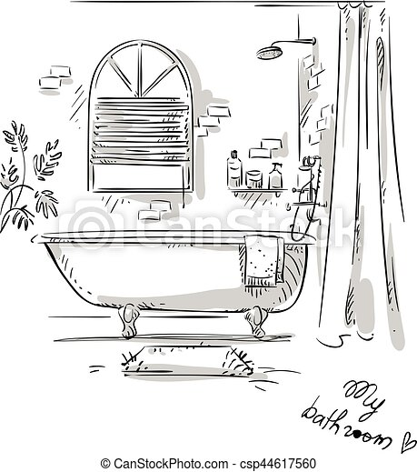 int rieur dessin chambre coucher design illustration clip art vectoriel rechercher. Black Bedroom Furniture Sets. Home Design Ideas
