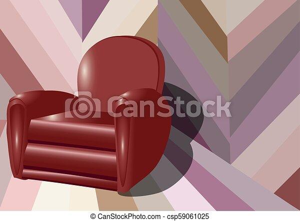 intérieur, fauteuil - csp59061025