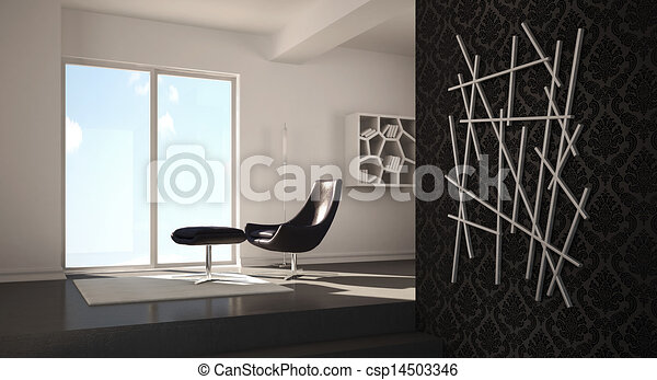 int rieur maison moderne conception render moderne. Black Bedroom Furniture Sets. Home Design Ideas