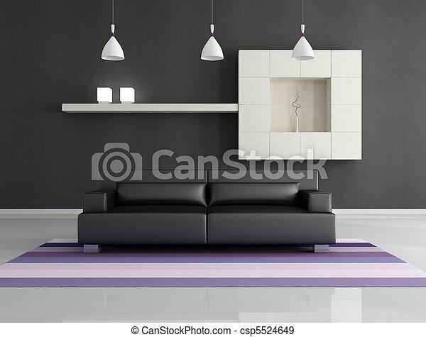 intérieur, minimaliste - csp5524649