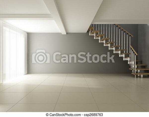 intérieur, moderne - csp2689763