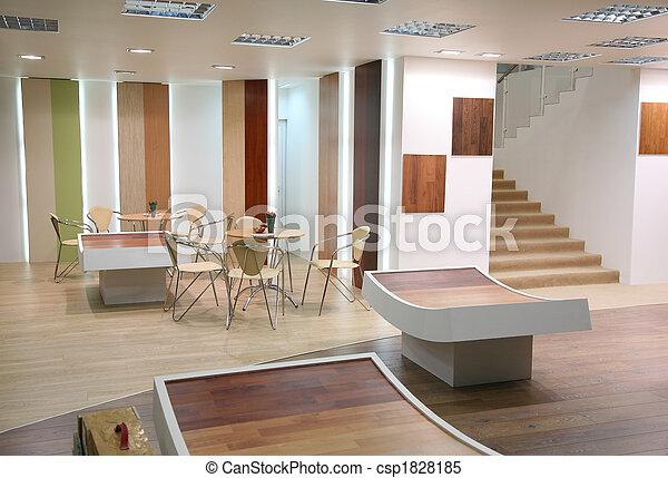 intérieur, salle - csp1828185