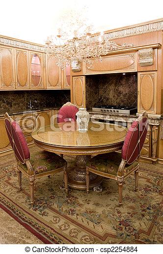 intérieur, salle manger - csp2254884