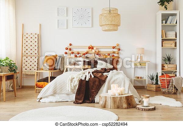 Interieur Style Scandinave Chambre A Coucher