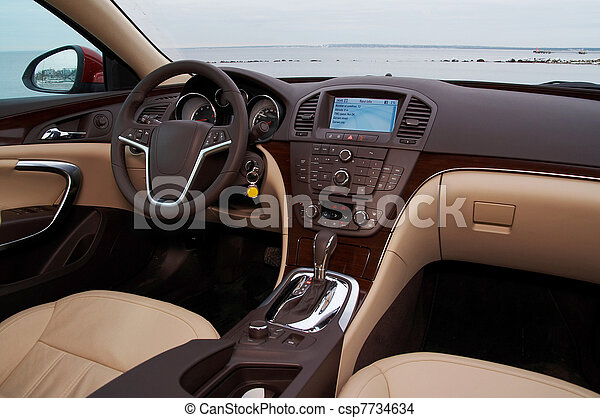 Int rieur voiture moderne luxe photo de stock for Interieur de voiture