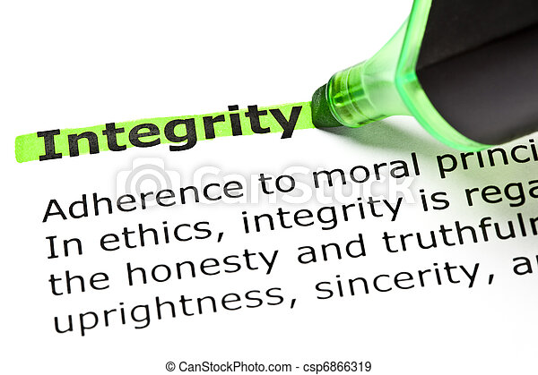 'Integrity' highlighted in green - csp6866319