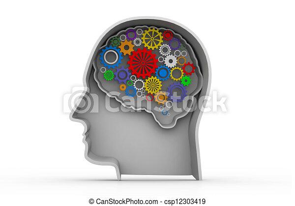 inteligencja, pojęcie - csp12303419