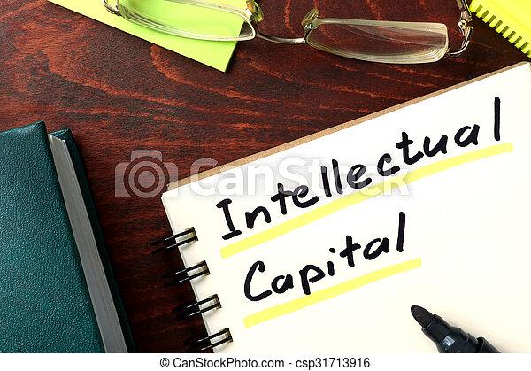 Intellectual capital - csp31713916