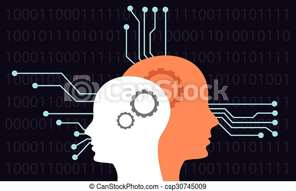 intelligence artificielle - csp30745009