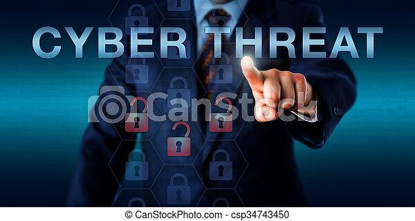 Intelligence Provider Pressing CYBER THREAT - csp34743450