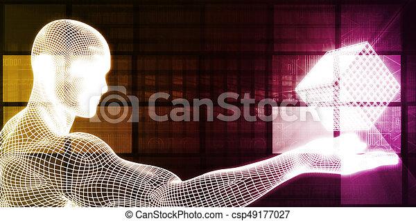 intelligent, conception - csp49177027