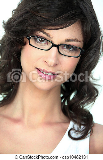 intelligent woman - csp10482131
