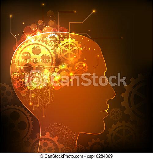 intelligentie, menselijk - csp10284369