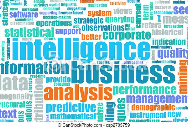 intelligenza, affari - csp2703759