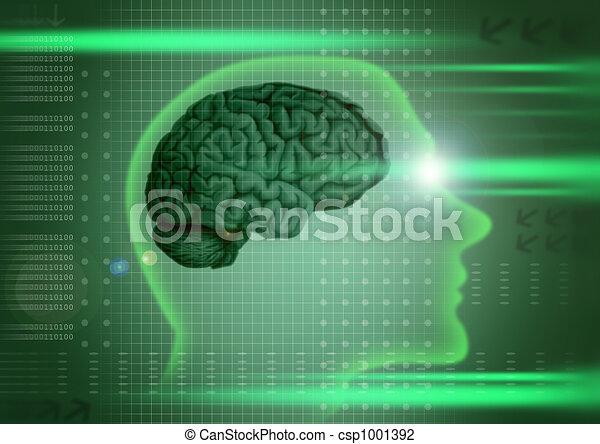 intelligenza, concetto - csp1001392