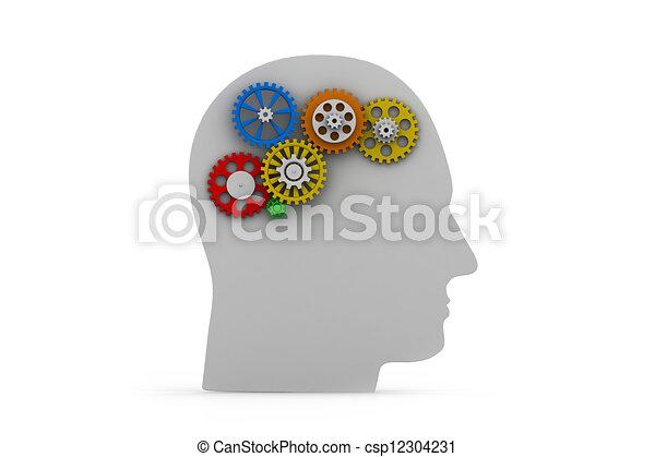 intelligenza, concetto - csp12304231