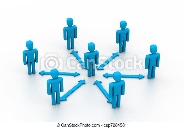 Interacción de negocios - csp7284581