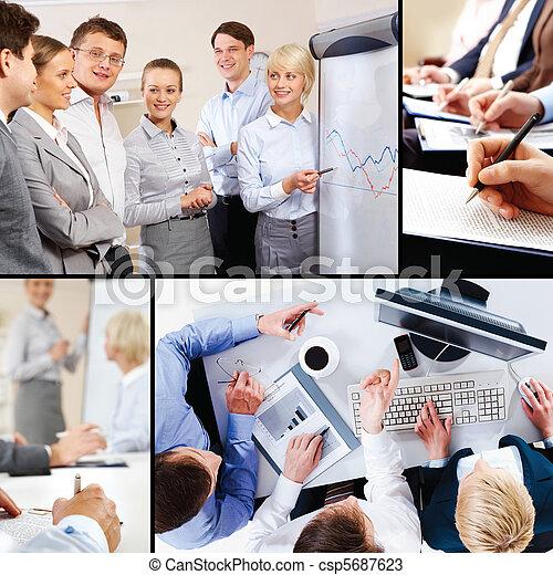 El valor de la interacción de negocios - csp5687623