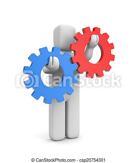 Interacción o metáfora de competencia - csp20754301