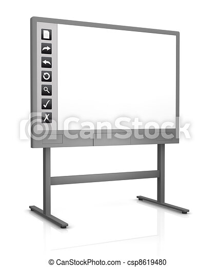Interactive Whiteboard Clipart