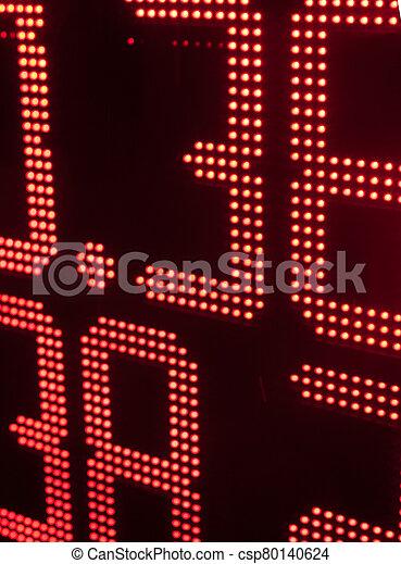 intercambio, moneda, tabla, tasas - csp80140624