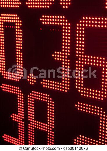 intercambio, moneda, tabla, tasas - csp80140076