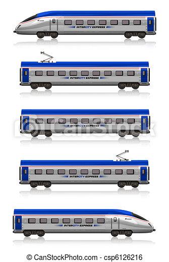 InterCity Express train set - csp6126216