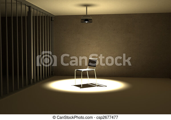 interegation, prison - csp2677477