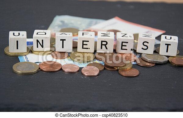 interesse - csp40823510
