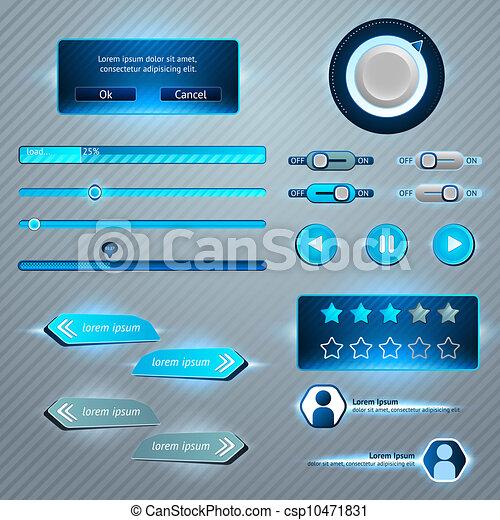 interface, ensemble, utilisateur - csp10471831